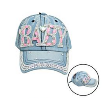 Bling Jean Cap Baby Light