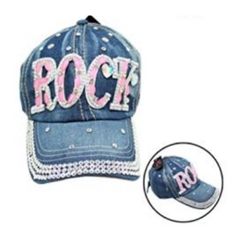 Bling Jean Cap Rock Deep