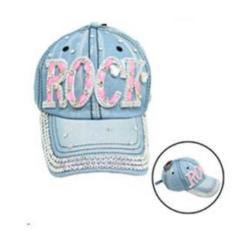 Bling Jean Cap Rock Light