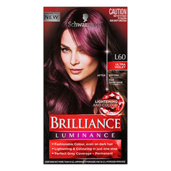 Schwarzkopf Brilliance Permanent Hair Colour Gem Collection Ultra Violet L60