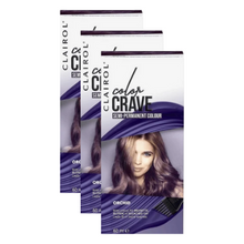 Clairol Colour Crave Semi Permanent Colour Orchid 60ml x 3