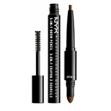 NYX 3-In-1 Brow Pencil / Powder / Mascara 03 Soft Brown