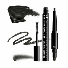 NYX 3-In-1 Brow Pencil / Powder / Mascara 09 Charcoal