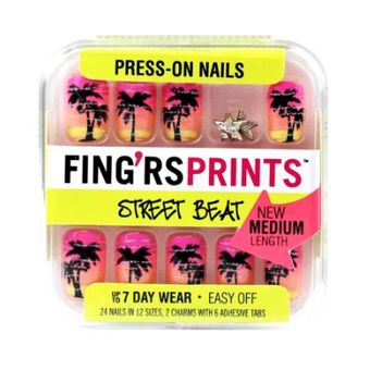 Fing'rs Prints Nail Art Hot In Herre Nails