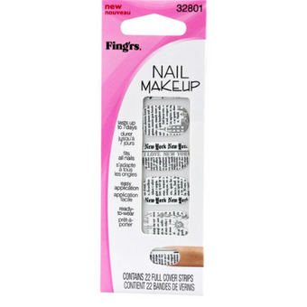 Fing'rs Girlie Nail Makeup Magazine