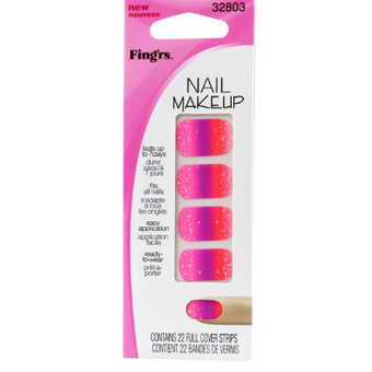 Fing'rs Girlie Nail Makeup Pinky