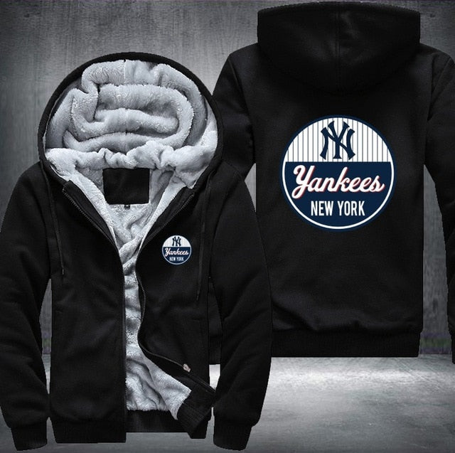 finest selection 3acb2 85abb New York Yankees Fleece Jacket