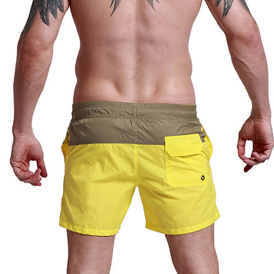 Men's Shorts Fashion Summer Sexy Beach Leisure Lining Fast Dry Elastic Waist