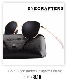 Polarized Round Sunglasses Brand Designer Round Glasses Classic Driving Semi Rimless Eyewear
