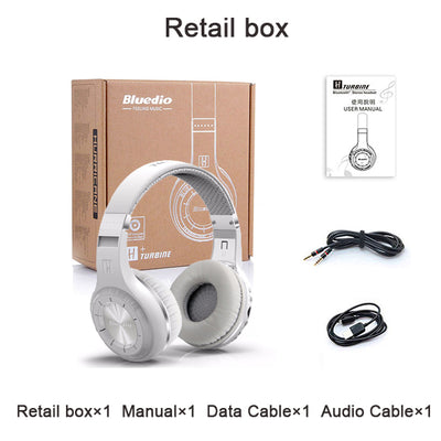 Bluetooth Stereo Wireless Headphones Super Bass Music Mp3 Player Headset with Mic FM