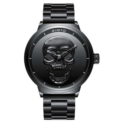 Men Luxury Brand Watch Unique Design Skull Watches Sports Quartz Military Steel Wrist Men relogio masculino