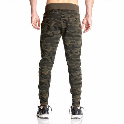 GYMLOCKER 2017 Men camouflage Gyms Pants Casual Elastic Mens Fitness Workout Pants skinny Sweatpants Trousers Jogger Pants