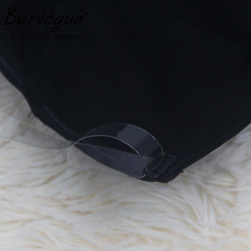 0ee8bfab2 Burvogue NEW Sexy Women Backless Shapewear Deep Plunge Body Shaper  Invisible Underwear for Dress Clear Strap