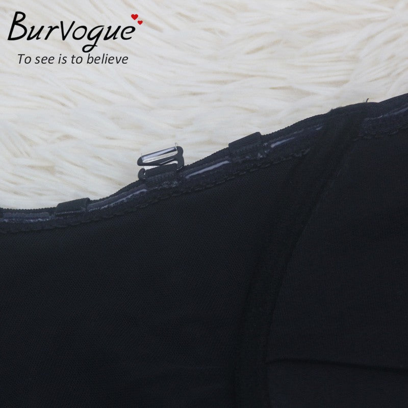 48e1823b1a Burvogue NEW Sexy Women Backless Shapewear Deep Plunge Body Shaper  Invisible Underwear for Dress Clear Strap
