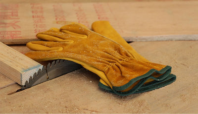Work Gloves Cowhide Driver Security Protection Wear Safety Workers Welding Gloves For Working