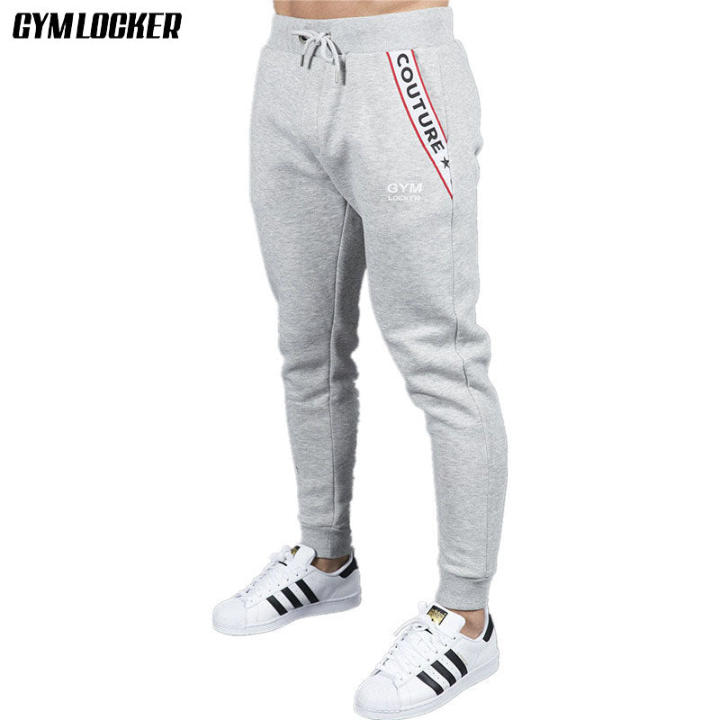 modern style 50-70%off modern style GYMLOCKER NEW HIGH quality Joggers sweatpants fashion Men's trousers gyms  Bodybuilding slim fit Jogger pants men clothing