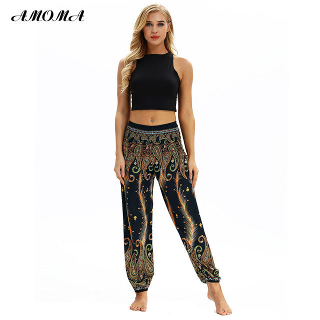 49997ee84c7b1 Women s Harem Trousers Hippy Aladdin Boho Style Harem Pants Casual Bloomers  Various Patterns