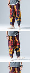 Men Harem Pant Clothes Hip Hop Mens Male Harajuku Baggy Loose Pants Fashion Trousers Plus