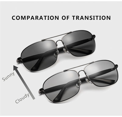 Vintage Stainless Polarized Sunglasses Classic Brand Sun glasses Coating Lens Driving Shades