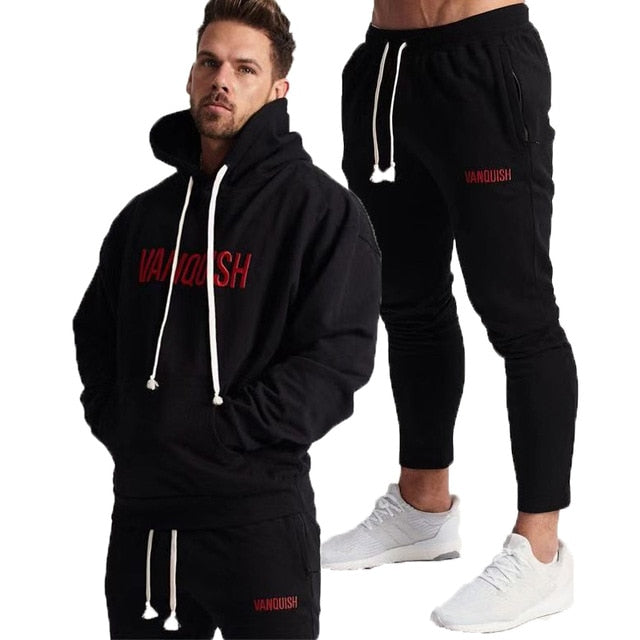 Pants Alert Mens Sport Pants Long Trousers Tracksuit Gym Fitness Workout Joggers Sweatpants Casual Men Clothing Sets Outfits Clothes Set New Discounts Price