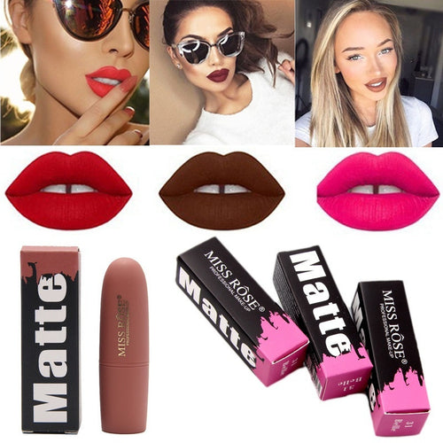 Lipstick Moisturizer Smooth Lips Stick Long Lasting Charming Lip Lipstick