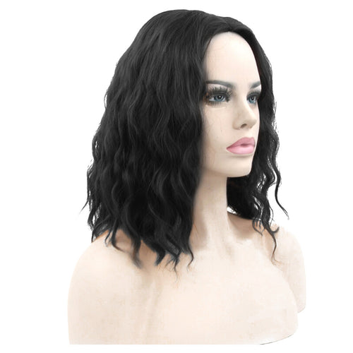 Elegant Curly Long Bob Wig