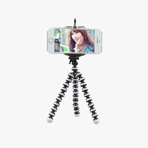 Mini Flexible Selfie Smartphone Tripod