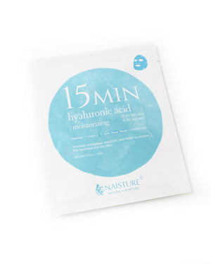 15 MIN Hyaluronic Acid Face Sheet Mask