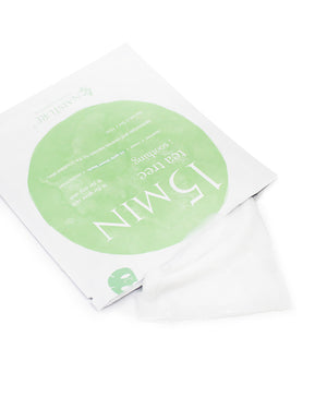 15 MIN Tea Tree Face Sheet Mask - naisture