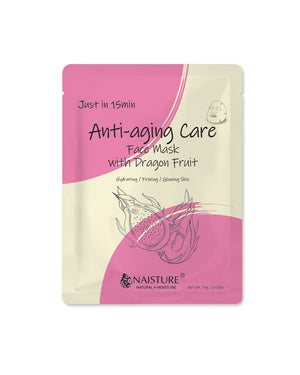 Just in 15 Min Anti-Aging Dragon Fruit Facial Mask - naisture