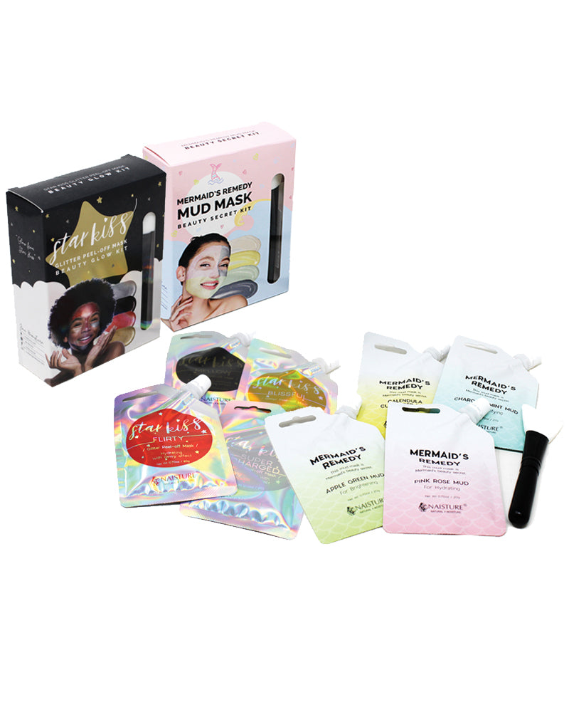 Perfect Glow Mud Mask & Peel-off Mask Bundle Kit