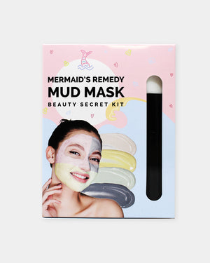 Mermaid's Remedy Mud Mask Beauty Secret Kit - naisture