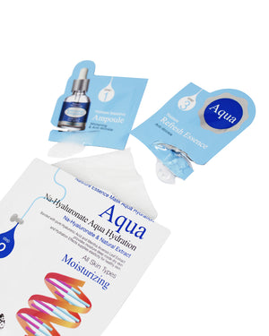3 Step Essence Sheet Mask - Aqua Hydration - naisture