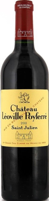 2011 Château Léoville Poyferré Saint-Julien – 2nd Growth