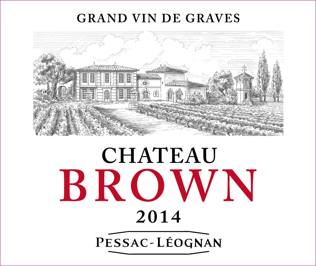 Bordeaux Wine Shop Chateau Brown