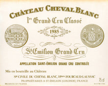 Load image into Gallery viewer, Bordeaux Wine Shop Chateau Cheval Blanc
