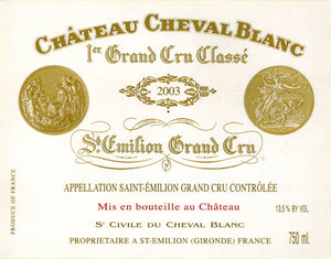 Bordeaux Wine Shop Chateau Cheval Blanc