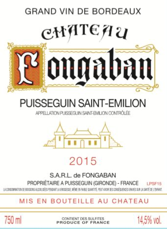 Bordeaux Wine Shop Chateau Fongaban