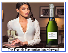 Load image into Gallery viewer, Tentation par Maucaillou, NV Crémant de Bordeaux (sparkling wine)