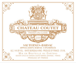 Bordeaux Wine Shop Chateau Coutet