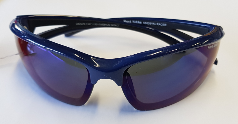 Sunglasses Safety Blue Wrap