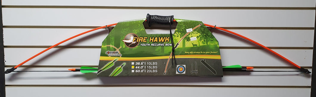 Fire Hawk Youth Recurve Bow Kit 44 Inch