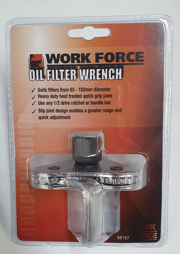 Oil Filter Wrench 1/2 Inch Drive