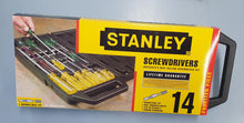 Load image into Gallery viewer, Stanley 14 Piece Screwdriver Set