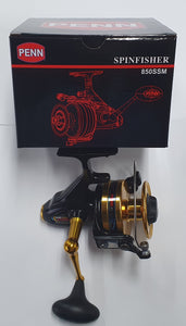 Penn Spinfisher 850 SSM with packaging