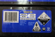 Load image into Gallery viewer, MSST22 Exide Marine Starter Battery 575cca