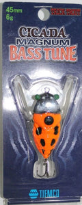 Cicada Magnum Bass Tune Orange 45mm 6G