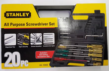 Load image into Gallery viewer, Stanley All Purpose Screwdriver Set
