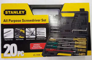 Stanley All Purpose Screwdriver Set
