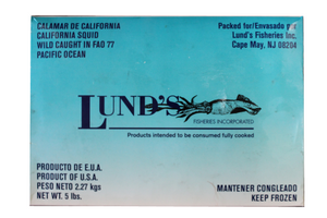 Lunds 5lb Loligo Squid USA Imp